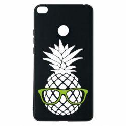 Чехол для Xiaomi Mi Max 2 Pineapple with glasses