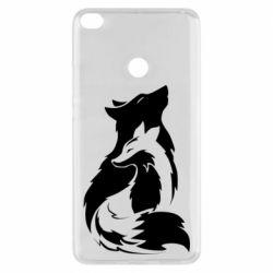 Чехол для Xiaomi Mi Max 2 Wolf And Fox