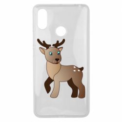 Чехол для Xiaomi Mi Max 3 Cartoon deer