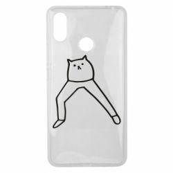 Чохол для Xiaomi Mi Max 3 Cat in pants