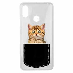 Чехол для Xiaomi Mi Max 3 Cat in your pocket
