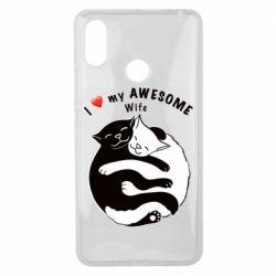 Чехол для Xiaomi Mi Max 3 Cats with a smile