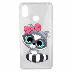 Чехол для Xiaomi Mi Max 3 Cute raccoon