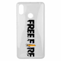 Чехол для Xiaomi Mi Max 3 Free Fire spray
