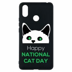 Чехол для Xiaomi Mi Max 3 Happy National Cat Day