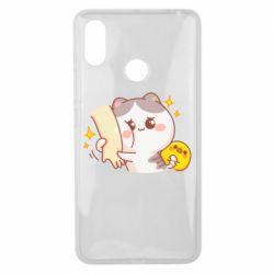 Чохол для Xiaomi Mi Max 3 Кішка тримає руку