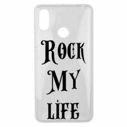 Чехол для Xiaomi Mi Max 3 Rock my life