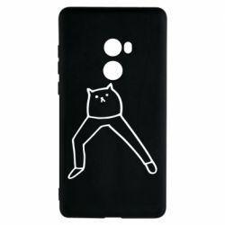 Чохол для Xiaomi Mi Mix 2 Cat in pants