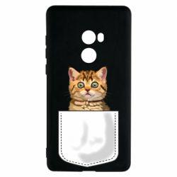 Чехол для Xiaomi Mi Mix 2 Cat in your pocket