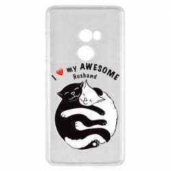 Чехол для Xiaomi Mi Mix 2 Cats and love