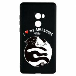 Чехол для Xiaomi Mi Mix 2 Cats with a smile
