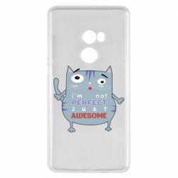 Чехол для Xiaomi Mi Mix 2 Cute cat and text