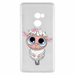 Чехол для Xiaomi Mi Mix 2 Cute lamb with big eyes