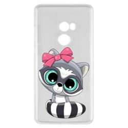 Чехол для Xiaomi Mi Mix 2 Cute raccoon