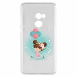 Чехол для Xiaomi Mi Mix 2 Girl with balloons