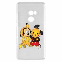 Чехол для Xiaomi Mi Mix 2 Mickey and Pikachu