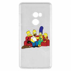 Чехол для Xiaomi Mi Mix 2 Simpsons At Home