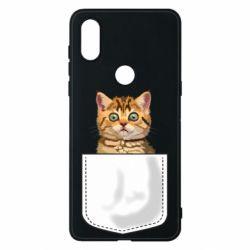 Чехол для Xiaomi Mi Mix 3 Cat in your pocket
