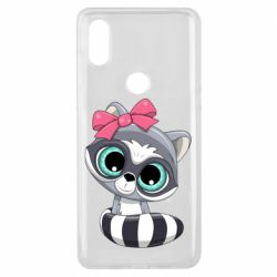 Чехол для Xiaomi Mi Mix 3 Cute raccoon