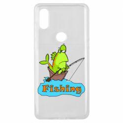 Чехол для Xiaomi Mi Mix 3 Fish Fishing