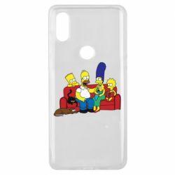 Чехол для Xiaomi Mi Mix 3 Simpsons At Home