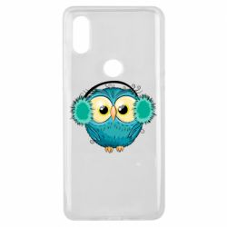 Чехол для Xiaomi Mi Mix 3 Winter owl