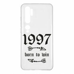 Чохол для Xiaomi Mi Note 10 1997 Born to win