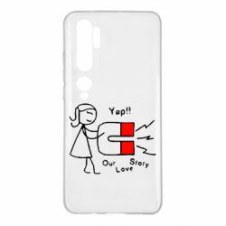 Чехол для Xiaomi Mi Note 10 2302Our love story2