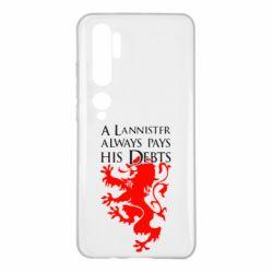 Чехол для Xiaomi Mi Note 10 A Lannister always pays his debts