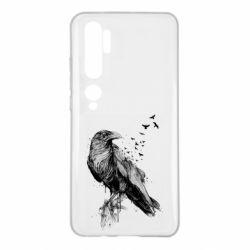 Чохол для Xiaomi Mi Note 10 A pack of ravens