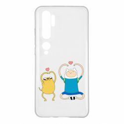 Чехол для Xiaomi Mi Note 10 Adventure time
