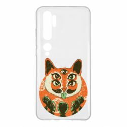 Чехол для Xiaomi Mi Note 10 Alien Cat