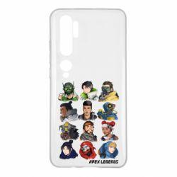 Чохол для Xiaomi Mi Note 10 Apex legends heroes