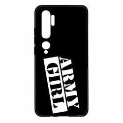 Чохол для Xiaomi Mi Note 10 Army girl