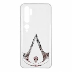 Чехол для Xiaomi Mi Note 10 Assassins Creed and skull