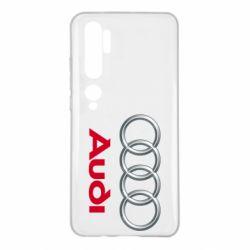 Чохол для Xiaomi Mi Note 10 Audi 3D Logo