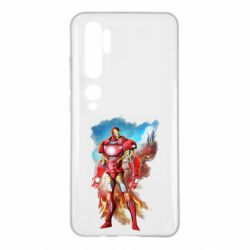 Чохол для Xiaomi Mi Note 10 Avengers iron man drawing
