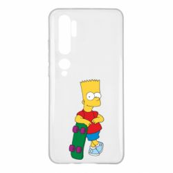 Чохол для Xiaomi Mi Note 10 Bart Simpson