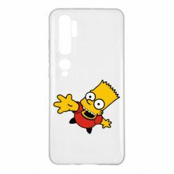 Чохол для Xiaomi Mi Note 10 Барт Симпсон