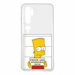 Чехол для Xiaomi Mi Note 10 Барт в тюряге