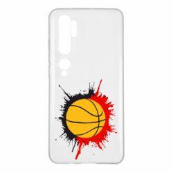 Чехол для Xiaomi Mi Note 10 Баскетбольный мяч