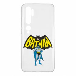 Чехол для Xiaomi Mi Note 10 Batman Hero
