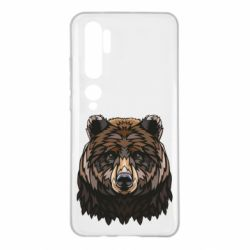 Чехол для Xiaomi Mi Note 10 Bear graphic