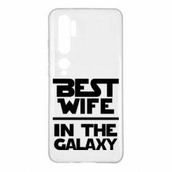 Чехол для Xiaomi Mi Note 10 Best wife in the Galaxy