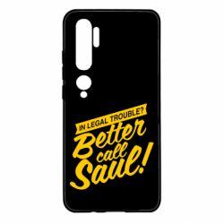 Чохол для Xiaomi Mi Note 10 Better call Saul!