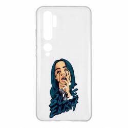 Чехол для Xiaomi Mi Note 10 BILLIE EILISH ART