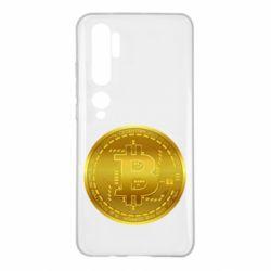 Чохол для Xiaomi Mi Note 10 Bitcoin coin
