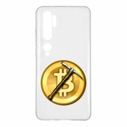 Чохол для Xiaomi Mi Note 10 Bitcoin Hammer