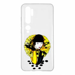 Чехол для Xiaomi Mi Note 10 Black and yellow clown