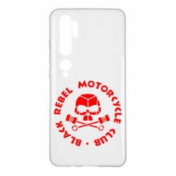 Чехол для Xiaomi Mi Note 10 Black Rebel Motorcycle Club